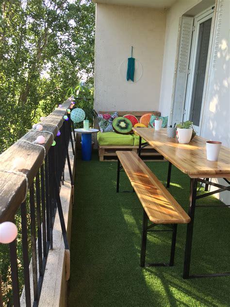table balcon 1384 d 233 co un balcon color 233 pour l 233 t 233 caro in the sixties