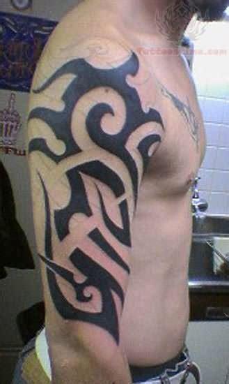 half sleeve tribal tattoos for men tribal half sleeve for