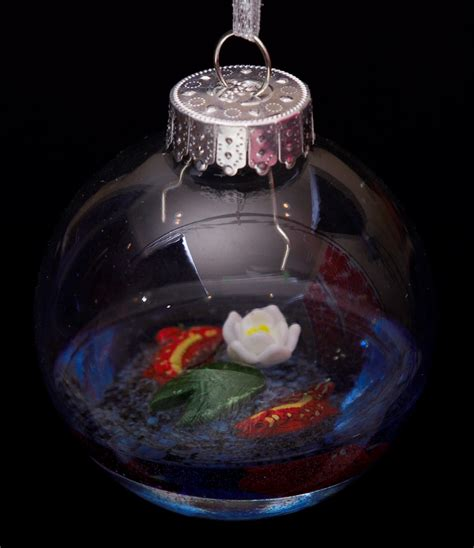 christmas ornaments by eb koi pond ornament