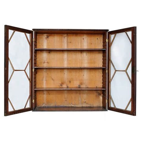 Hanging Bookcase George Iii Mahogany Hanging Bookcase With Astragal