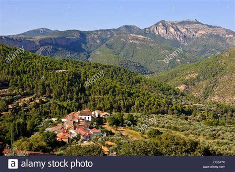 sierra del segura gontar yeste albacete province castilla la stock photo royalty  image