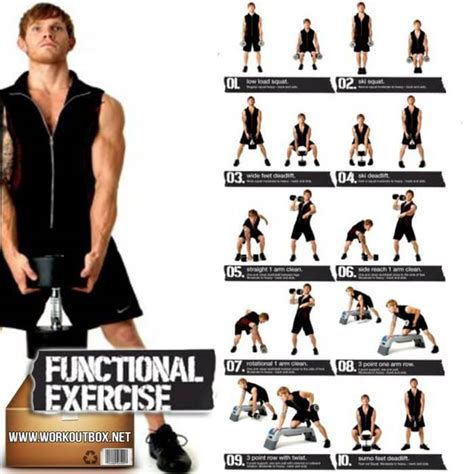 dumbbell exercises for functional healthy workout