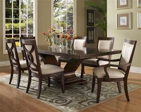 Black Wood Dining Room Sets by Dark Wood Dining Room Set Marceladick Com