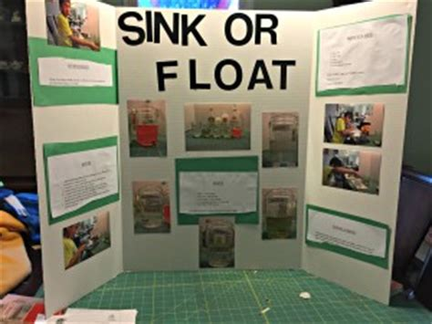 sink or float science fair project science fair 4th grade