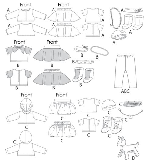 printable free doll clothes patterns free printable doll clothes sewing patterns search