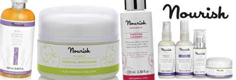 Nourishskinnourish Skin boost your skin with the nourish organic skin care range melt co