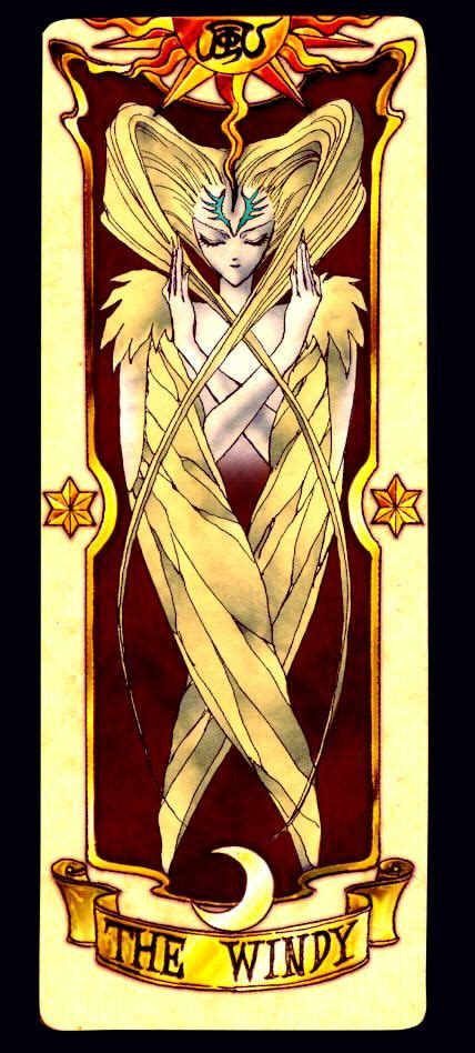 Clow Cards The Windy Template 17 best images about clow card on cardcaptor