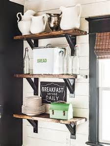 decorating kitchen shelves ideas open kitchen shelves farmhouse style intentional hospitality