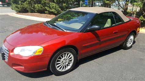 2004 Chrysler Sebring For Sale by 2004 Chrysler Sebring Touring Convertible For Sale