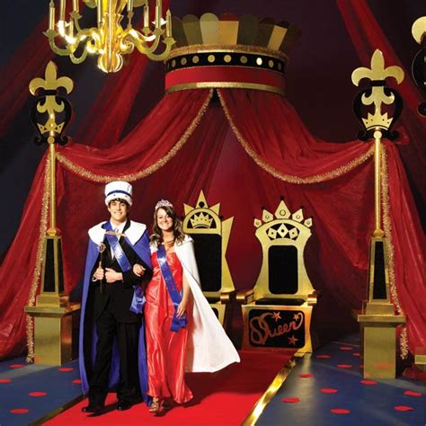 royalty themed decorations a royal affair complete prom theme kit s