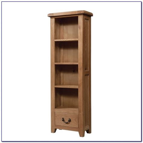 Tall Narrow Bookcase With Doors Bookcase Home Design Narrow Bookcases Uk
