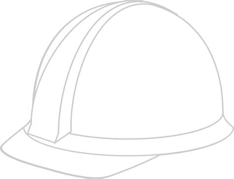 white hard hat clip art at clker com vector clip art