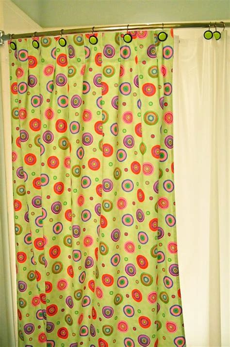print your own shower curtain home and garden how to make your own shower curtains