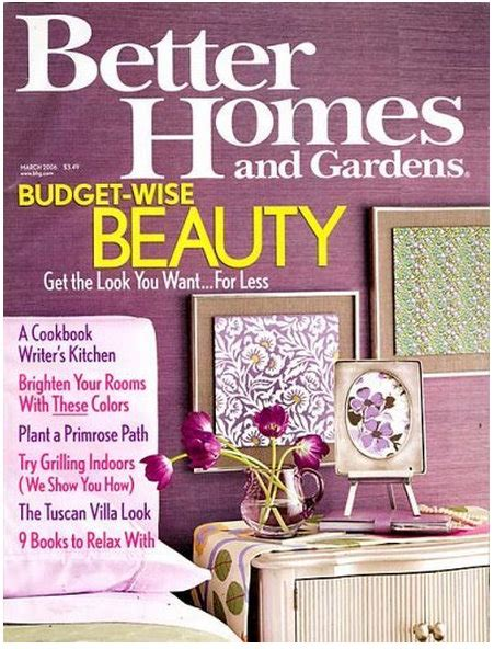 Better Homes Gardens Magazine by Discount Mags 1 Year Subscription To Better Homes Gardens For Only 4 99 Kroger Krazy