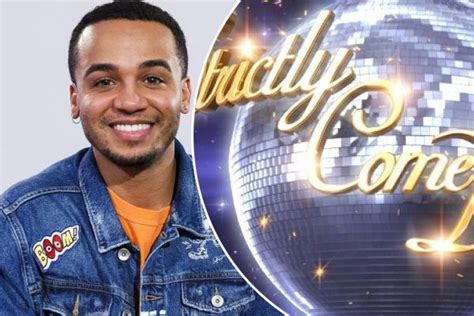 strictly  dancing  aston merrygold signs   magazine