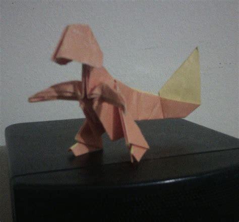 Origami Charmander - origami charmander by plerematico on deviantart