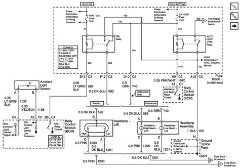 wiring diagram for an 04 pontiac grand am the wiring