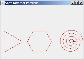 java swing graphics draw polygon in graphics