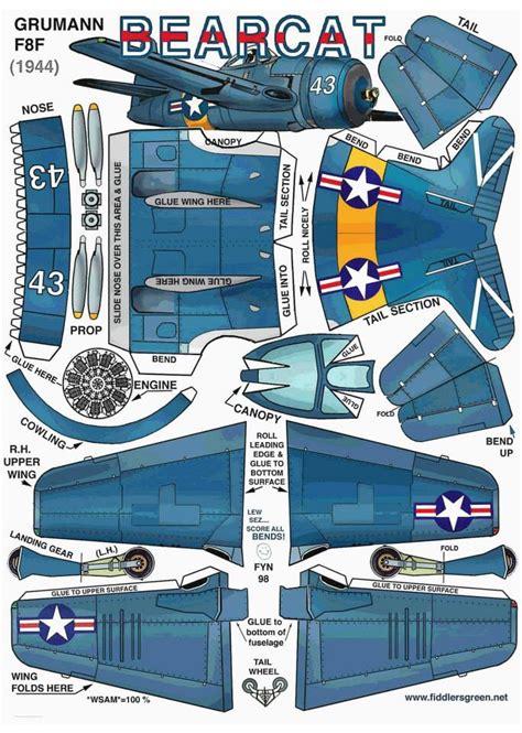 Aircraft Papercraft - recortable curiosidades papercraft planes