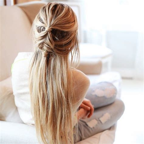 Halfway Up Hairstyles by 21 Different Fishtail Hairstyles Styles Weekly