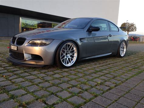 Myb E Hyper Glossy Black e92 m3 with 19 quot arc 8 bmw e92 m3 in space gray with our