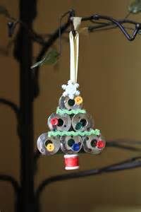 handmade sewing bobbin christmas tree ornament 50 of profit