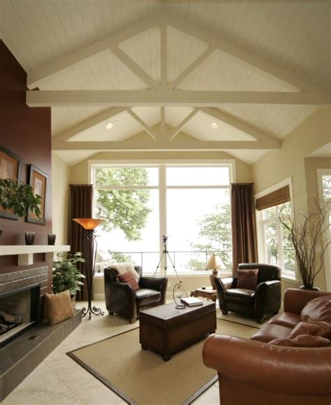 home plans with vaulted ceilings garage mud room 1500 sq ft 1000 images about exposed roof trusses on pinterest