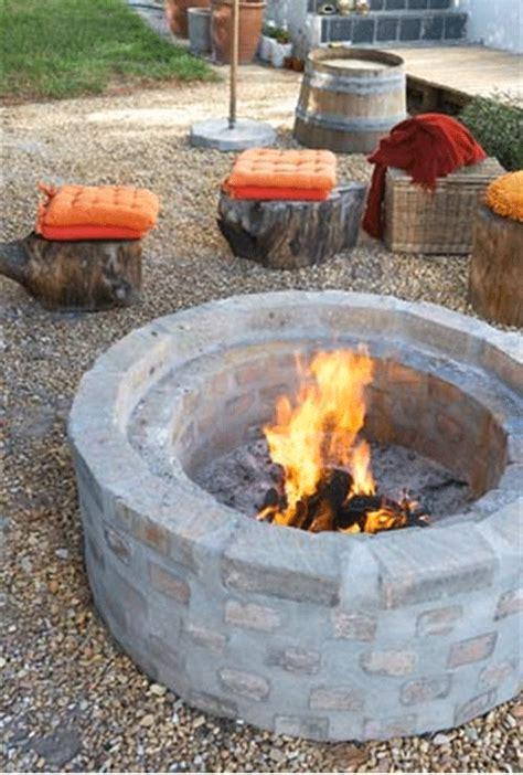 weekend project build a firepit poppytalk