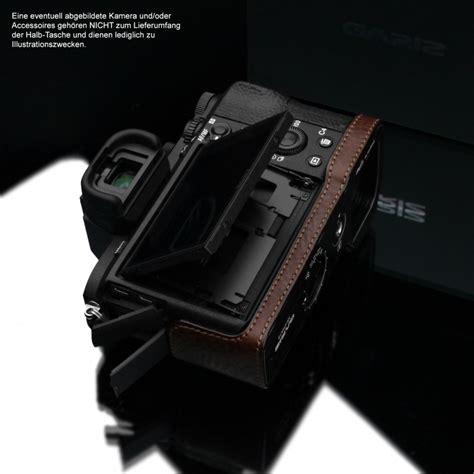 Leather For Sony Alpha A7r gariz leather designer half for sony alpha a7 ii a7r