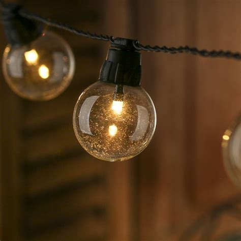 Battery Operated Vintage Globe Led String Lights Led Globe Light String
