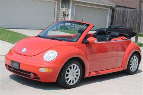 volkswagen beetle convertible  sale  houston tx   autoptencom