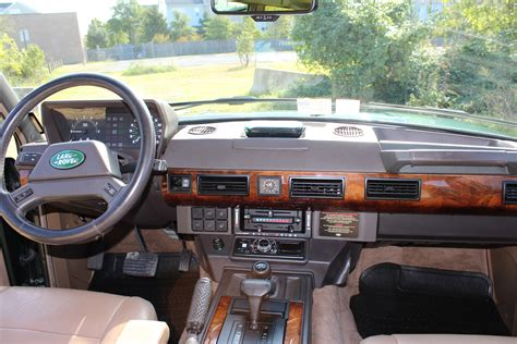 original range rover interior 91 range rover classic enthusiast owned records to day