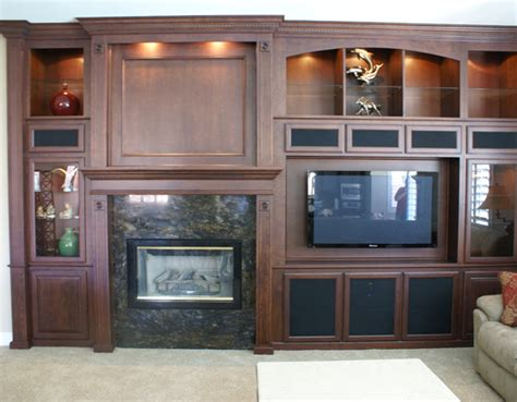 Built In Tv Cabinet Fireplace by Get A New Tv Stand Platinum Cabinetry In Las Vegas Nevada