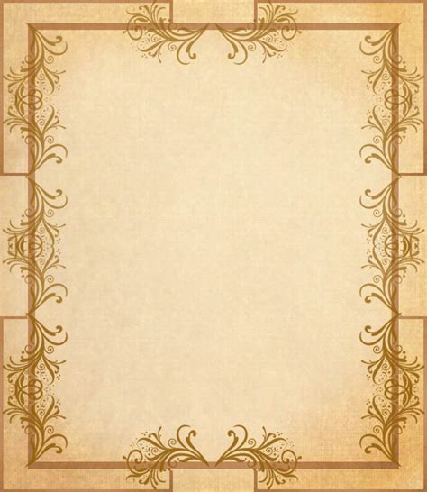 Free Fancy Paper Borders Download Free Clip Art Free Clip Art On Clipart Library Paper Template With Border