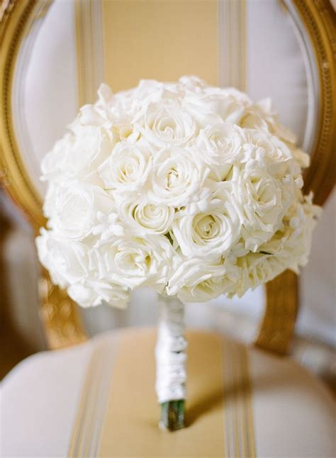White Wedding Flower Pictures by White And Stephanotis Bridal Bouquet