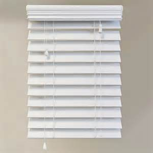 2 inch faux wood blinds white home decorators collection 60x72 white 2 5 inch premium