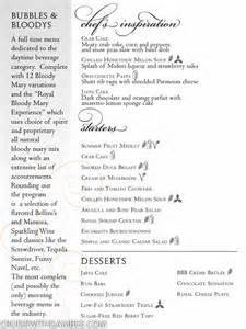 royal caribbean dining room menus cruise with gambee