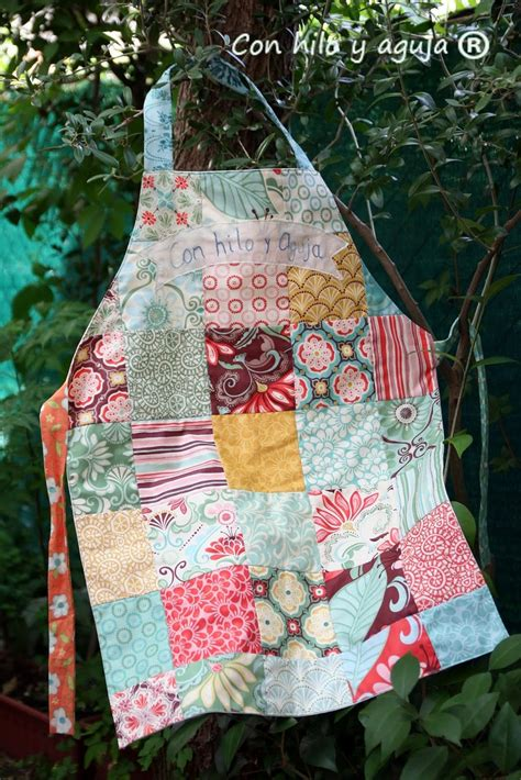 Patchwork Apron - pin by emily osborne on tea charms