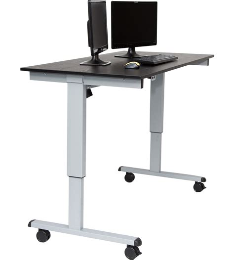 motorized standing desk motorized standing desk in computer and laptop carts
