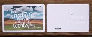 100 postcard design ideas inspiration printaholic