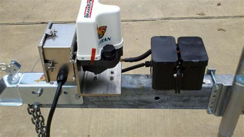 electric boat brakes converting to electric over hydraulic brakes how i did it
