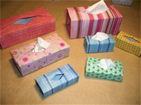Origami Tissue Box - origami tissue box 2 by paul ee