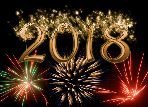 new year wallpaper happy new year 2018 wallpaper with crackers ultra hd
