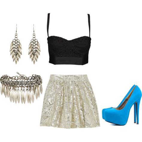 gorgeous party polyvore outfits    night