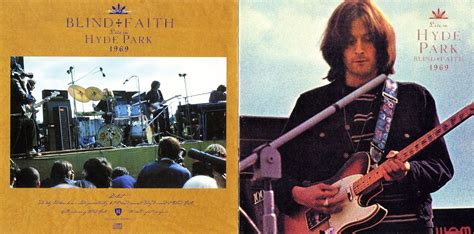 The Witchwood Records Blind Faith Hyde Park 1969 Blind Faith