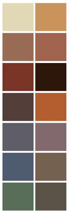 1000 ideas about rust color schemes on color pallets color combos and color palettes