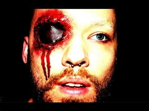 bullet for my eye of the makeup bullet wound eye ben dniprowskij