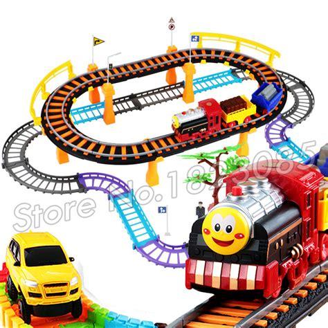Mainan Anak Kereta Api Set Elektrik Murah mainan kereta api beli murah mainan kereta api lots from