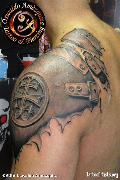 gladiator armor tattoo 1000 ideas about spartan helmet on