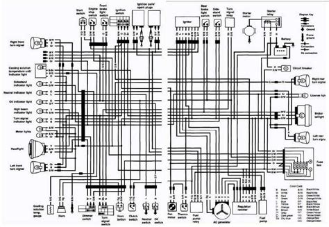 generic motorcycle wiring diagram 28 images headlight